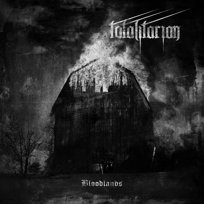 Totalitarian – Bloodlands, cover art created by Abomination Imagery
